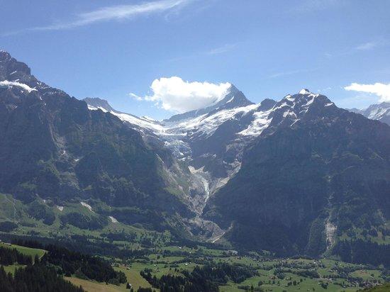 Hotel Gletschergarten: Amazing glacier view...