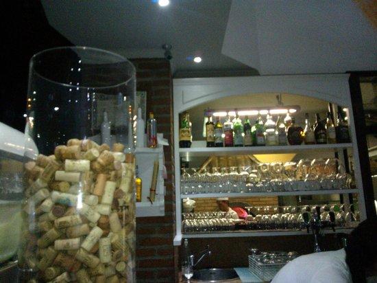 Roccoco : Il bar all'entrata