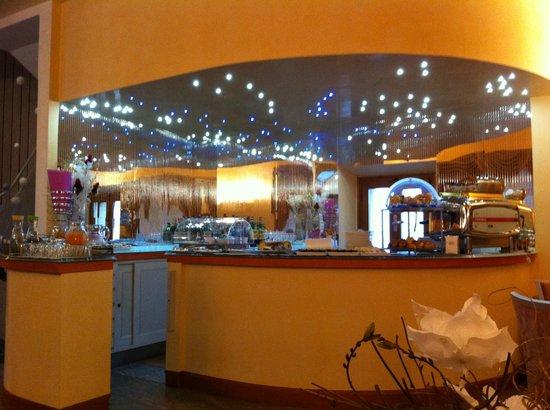 Hotel Sangallo : Breakfast buffet