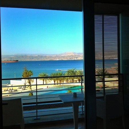 Kempinski Hotel Aqaba Red Sea: View from my room