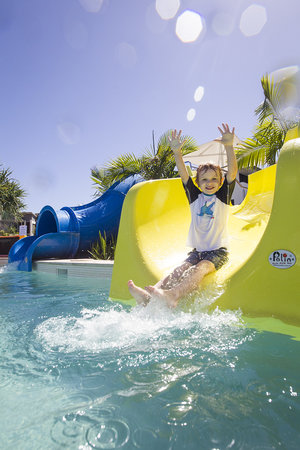 RACV Noosa Resort: 2 fun, exciting waterslides