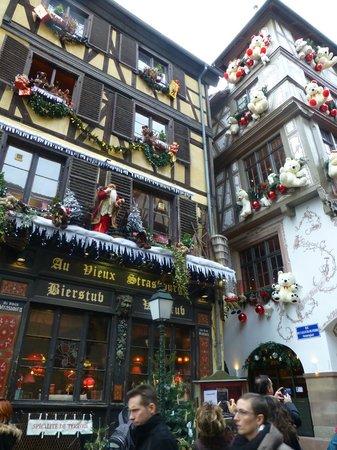 Christmas Market (Christkindelsmarik): décoration de noël