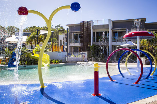 RACV Noosa Resort: Water splash park
