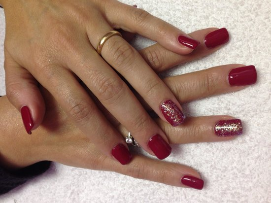 Liberty Style : Rèfill in gel colore Rosso Valentino.