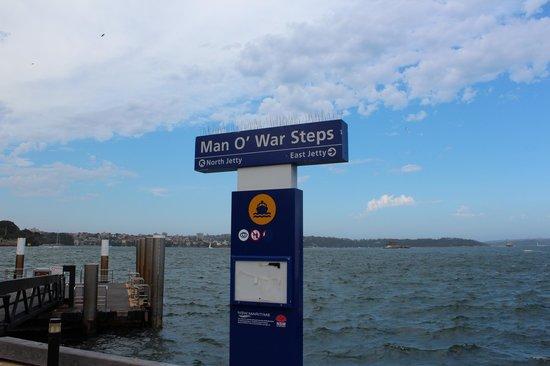 Royal Botanic Gardens: Man O' war Steps