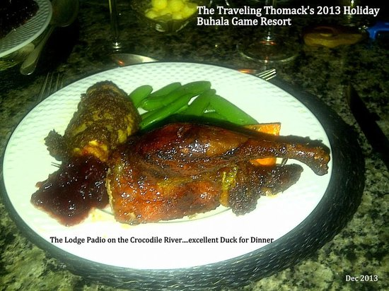 Buhala Lodge : Duck for Dinner