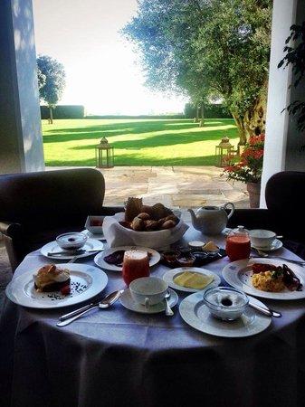 Finca Cortesin Hotel, Golf & Spa: weltbestes hotelfrühstück!