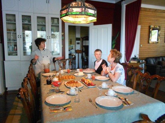 Au Manoir de Levis - Gite le Rosier: scambio di ricette
