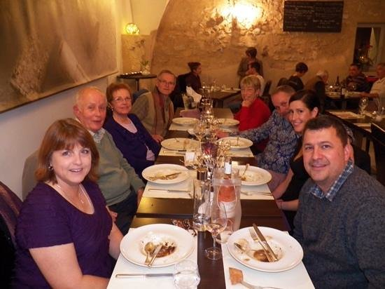 Our 50th anniversary dinner at the Bistro du'o.