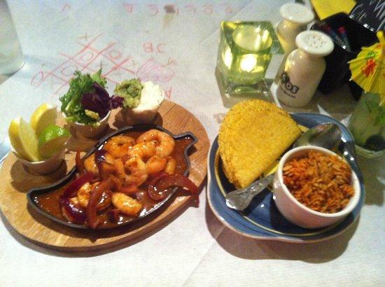 Amigos Mexican Restaurant & Steakhouse: Mojito King Prawns