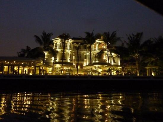 Villa Song Saigon: l'hôtel, vu de la navette