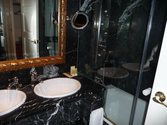 Hotel Alameda Palace: Bathroom - very luxe!