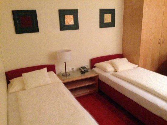 Das smarte Hotel garni: Schlafbereich