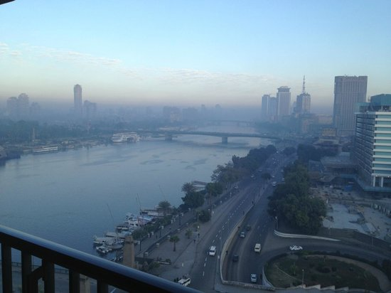 InterContinental Cairo Semiramis: Nile view from room