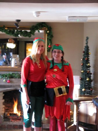 The Cross Hands Hotel: Christmas Day Elves!!