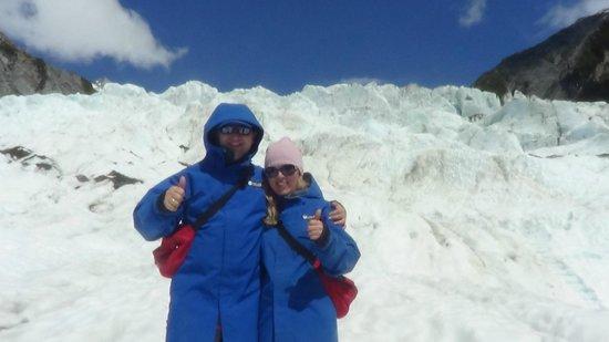 Franz Josef Glacier: Франз Джосеф 18.01.13 с дорррогой