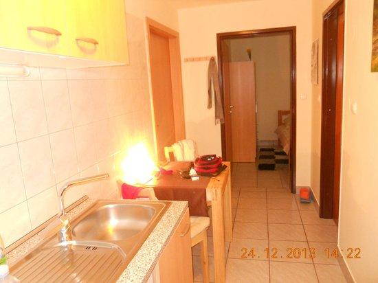 Apartments and Rooms Jozica: cucinino 2