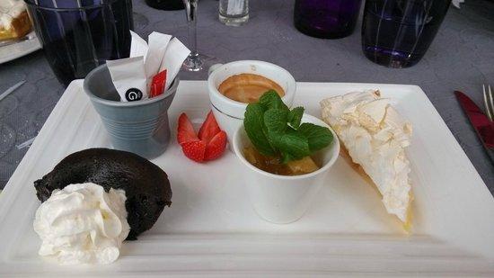 L'assiette provencale: Café gourmand