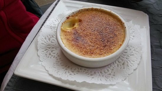 L'assiette provencale: Crème brulée à la citronnelle