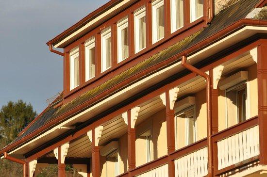 Hôtel Roess: Fassadendetail