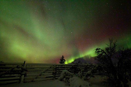 Hotel Jussantupa: Northern lights