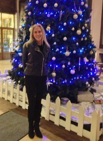 The Brehon: In front of the Christmas tree in the lobby before a concert at NEC!