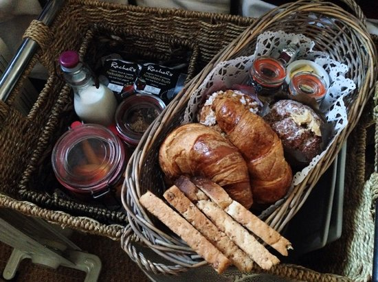 Five Hotel: Breakfast picnic basket