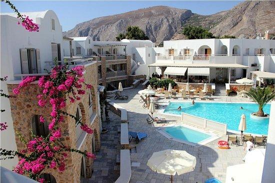 Aegean Plaza Hotel: вид сверху