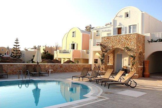 Aegean Plaza Hotel: возле нашего номера