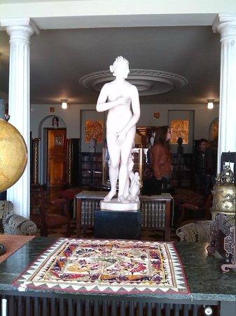 Fundación Rodríguez Acosta: Venus en la biblioteca