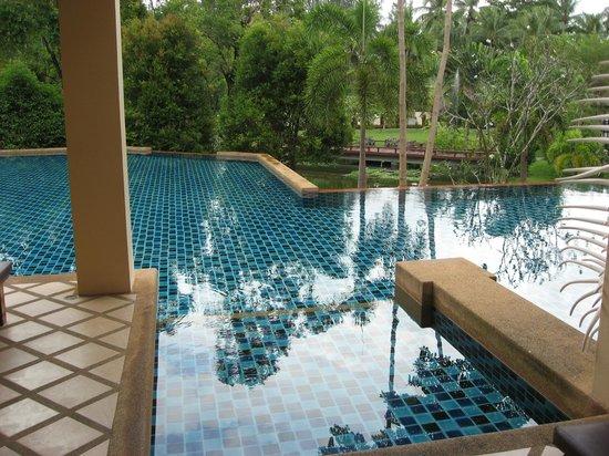 Crown Lanta Resort & Spa: udsigt fra vores terasse