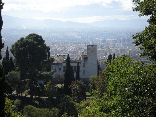 Fundación Rodríguez Acosta: Vistas desde La Alhambra