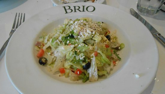 BRIO Tuscan Grille: Chopped Salad