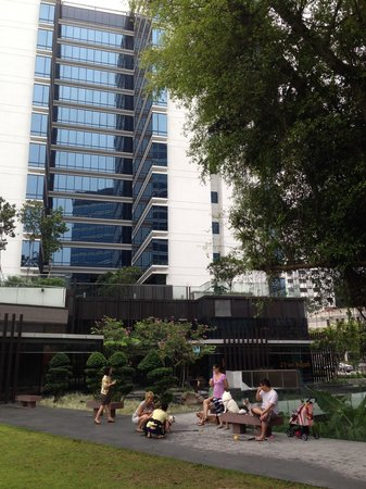 Days Hotel Singapore At Zhongshan Park: days hotel shot from the park