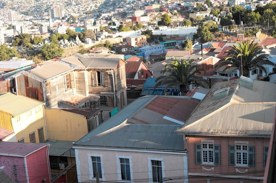 Hotel Boutique Acontraluz: partial view of the hillside
