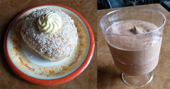 Kringla Bakeri og Kafe: School bread and Chocolate mousse