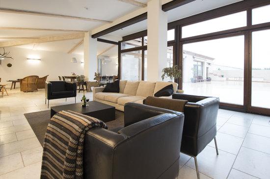 Mas Montbrió Belvedere : lounge area