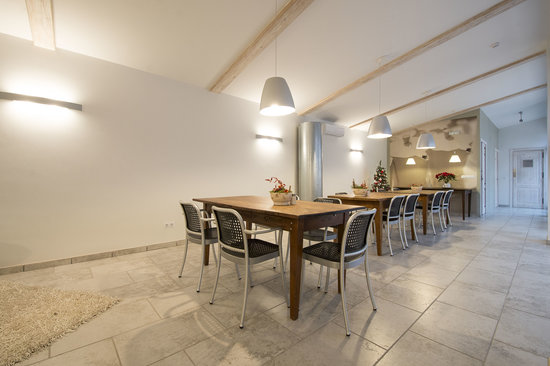 Mas Montbrió Belvedere : dining room