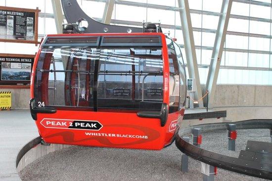 Peak 2 Peak Gondola: Gondolas departing platform