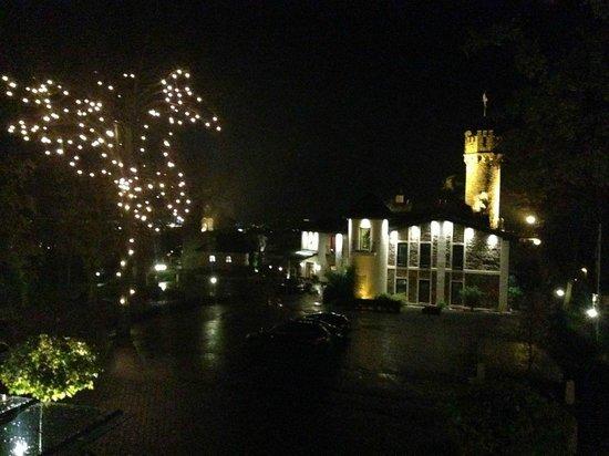 Relais & Châteaux Hotel Burg Schwarzenstein: Ausblick auf die Burg