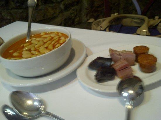 Fabada men degustaci n picture of casa gerardo prendes - Menu degustacion casa juan ...