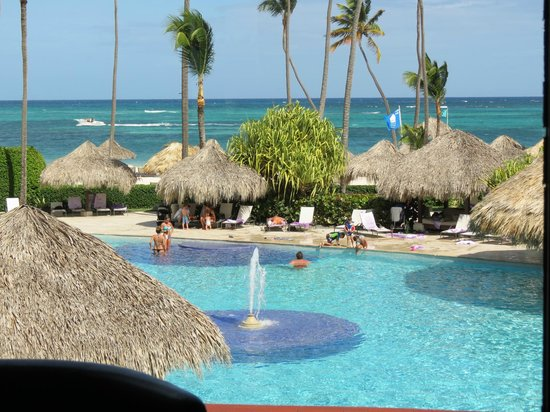 Paradisus Palma Real Golf & Spa Resort : Vista da janela do Lobby Royal Service