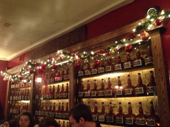 Charm City Food Tours: Yes, it's a wall of Grand Marnier