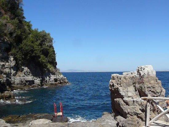 Villaggio Santa Fortunata Campogaio: vue de la plage