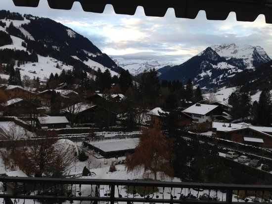 Park Gstaad: View from the Room