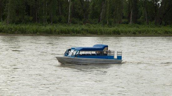 Mahay's Jet Boat Adventures: jetboat boot