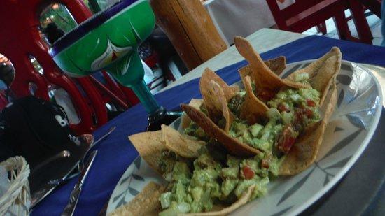 La Mission: Nachos com guacamole!