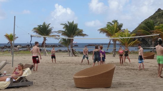 Carambola Beach Club: Great beach for teenagers!