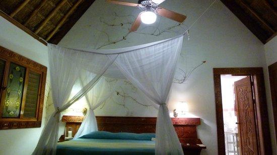 Hotel & Bungalows Mayaland: Le lit