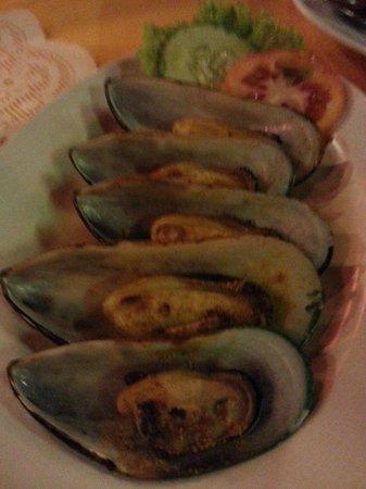 Islandish Seafood Restaurant: BBQ Green Oyster